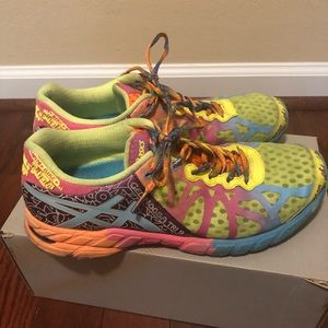 ASICS gel-noosa tri 9 multi-color sneakers size 10
